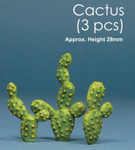 "Js Work 1"" Cactus (3pcs) (Unpainted Resin) Kit"