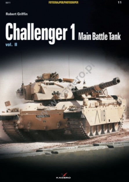 Kagero Books Photosniper: Challenger 1 Main Battle Tank Vol.II