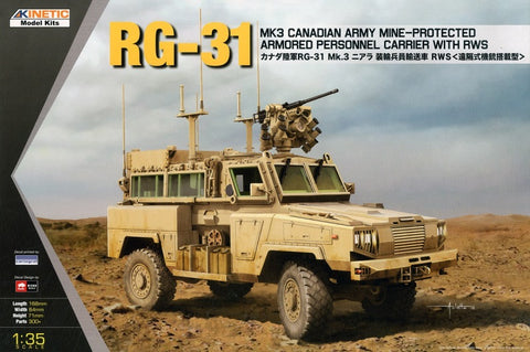 Kinetic Military 1/35 RG-31 Mk3 Canadian Army Kit