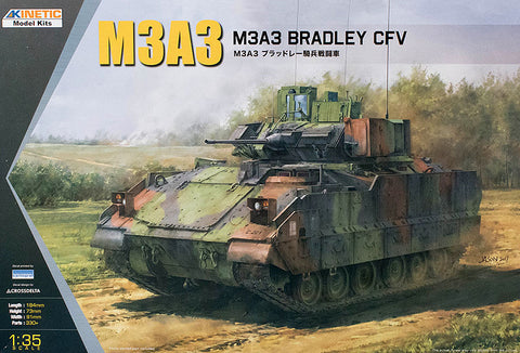 Kinetic Military 1/35 M3A3 Bradley CFV Kit