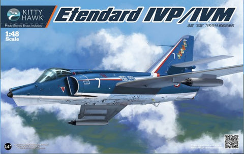 Kitty Hawk Aircraft 1/48 Etendard IVP/IVM Recon/Fighter Kit