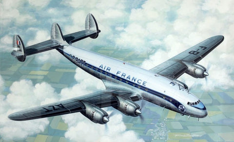 Heller Aircraft 1/72 Air France L749 Constellation Passenger Airliner Kit