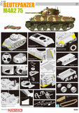 Cyber-Hobby Military 1/35 Beutepanzer M4A2 75 Tank Ltd. Edition Kit