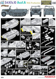 Cyber-Hobby Military 1/35 SdKfz 10 Ausf A 1940 Production Halftrack Ltd. Edition Kit