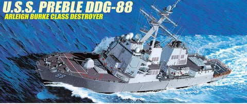 Dragon Model Ships 1/350 USS Preble DDG88 Arleigh Burke Class Destroyer Kit