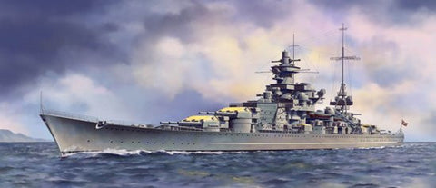 Dragon Model Ships 1/350 German Scharnhorst Battleship 1941 Kit