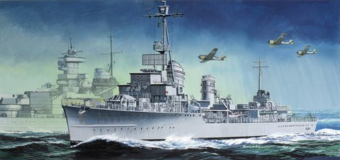Dragon Model Ships 1/350 German Z38 Destroyer Kit