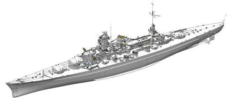 Dragon Model Ships 1/350 German Battleship Scharnhorst, 1940 Kit