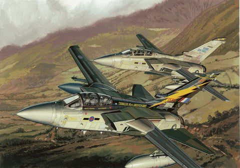 Dragon Models Aircraft 1/144 Tornado F3 111 Sq. 90th Anniv Aircraft (2) Kits