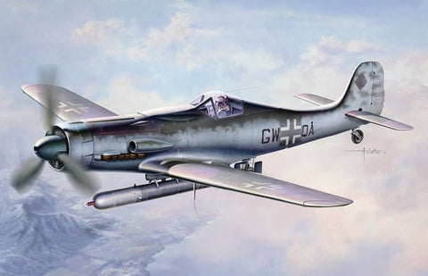 Dragon Models Aircraft 1/48 Focke Wulf Ta152C1/R14 Fighter Kit
