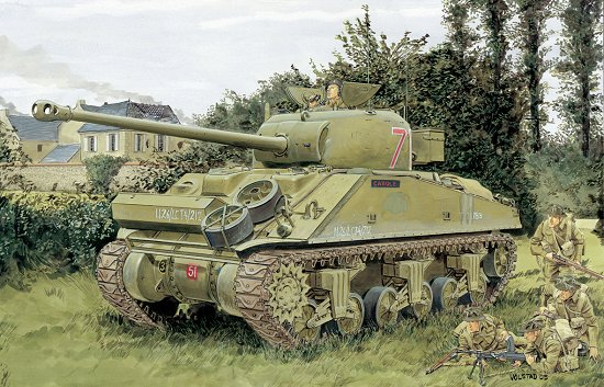 Dragon Military 1/35 Sherman Firefly Vc Tank Kit