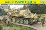 Dragon Military 1/35 SdKfz 171 Panther G Late Production Tank Smart Kit
