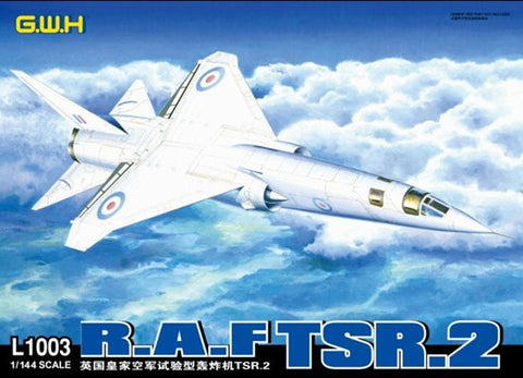 Lion Roar Aircraft 1/144 TSR2 RAF Strike/Recon Aircraft Kit