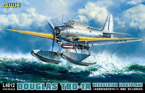 Lion Roar Aircraft 1/48 TBD1A Devastator USN Floatplane Kit