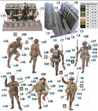 Master Box Ltd 1/35 British Infantry Before the Attack WWI Era (5 & Trench) Kit
