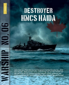 Lanasta Warship 6: Destroyer Canadian HMCS Haida