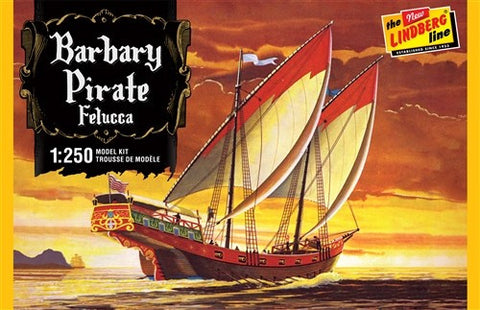 Lindberg Model Ships 1/250 Barbary Pirate Ship Kit
