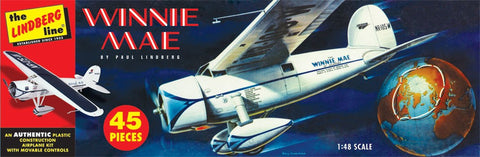 Lindberg Model Aircraft 1/48 Winnie May Kit