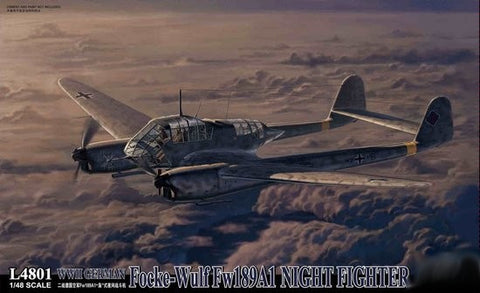 Lion Roar Aircraft 1/48 WWII German Fw189A1 Night Fighter Kit