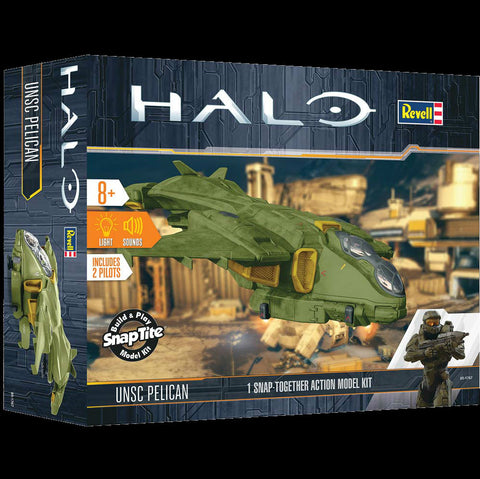 Revell-Monogram Sci-Fi 1/32 1/100 HALO UNSC Pelican Kit