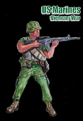Mars Military 1/32 Vietnam War US Marines (15) Kit