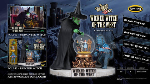 Polar Lights Clearance Sale Wicked Witch of The West Kit