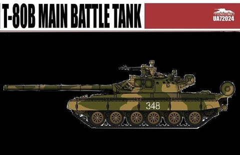 ModelCollect Military 1/72 T80B Main Battle Tank Kit
