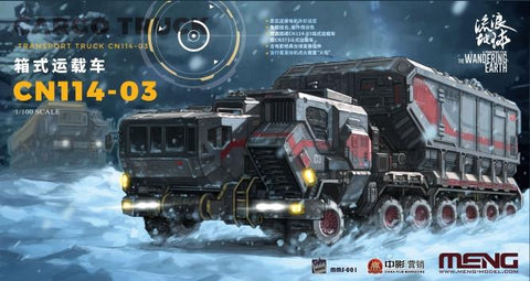 Meng Sci-Fi 1/100 The Wandering Earth Movie: 1/100 CN114-03 Cargo Transport Truck