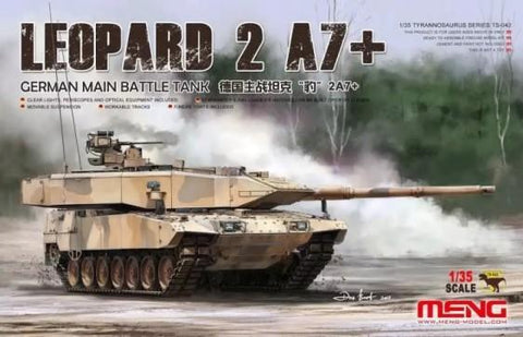 Meng Military Models 1/35 Leopard 2 A7+ German Main Battle Tank Kit