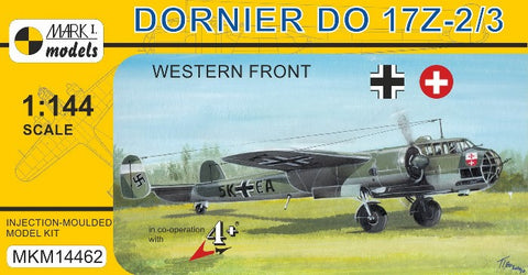 Mark I 1/144 Dornier Do17Z2/3 Western Front German Bomber Kit