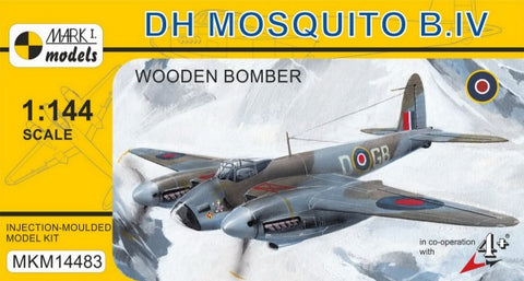 Mark I 1/144 DH Mosquito B IV RAF Wooden-Type Bomber Kit