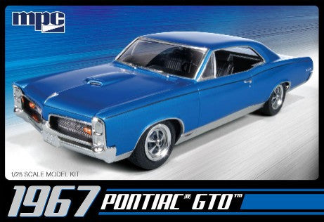 MPC Model Cars 1/25 1967 Pontiac GTO Kit