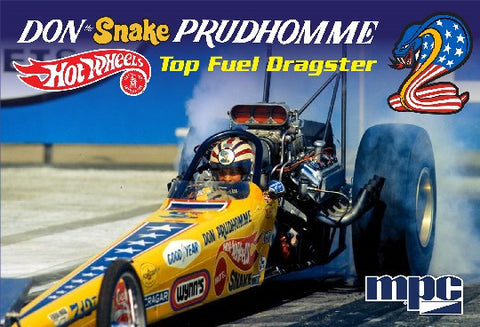 MPC Model Cars 1/25 1972 Don Snake Prudhomme Rear Engine Dragster Kit