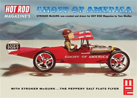 MPC Model Cars 1/18 Stroker McGurk Ghost of America Flying Car Kit