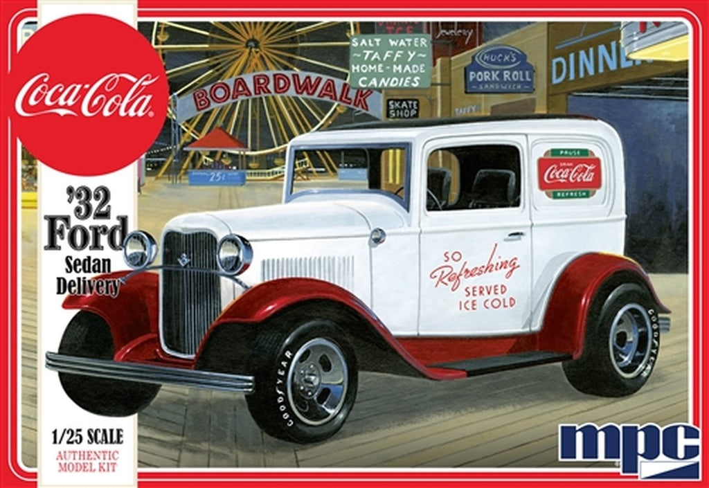 MPC Model Cars 1/25 Coca Cola 1932 Ford Sedan Delivery Truck Kit