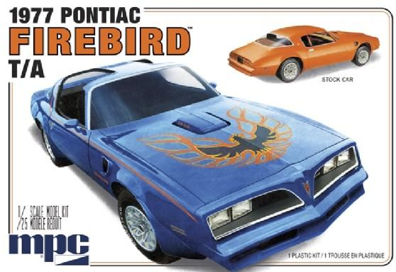 MPC Model Kits 1/25 1977 Pontiac Firebird Trans Am Kit