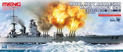 Meng Model Ships 1/700 HMS Rodney 29 British Royal Navy Battleship Kit