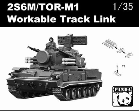 Panda Hobby 1/35 2S6M/TOR-M1 Workable Track Links Kit