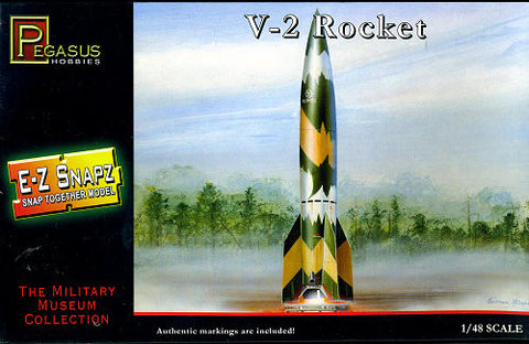 Pegasus Hobbies Aircraft 1/48 German V2 Rocket Snap Kit