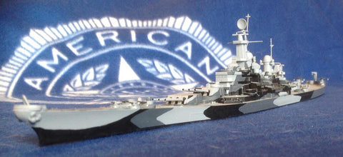 Fujimi Model Ships 1/700 Battleship Missouri Waterline Kit