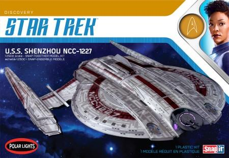 Polar Lights Sci-Fi 1/2500 Star Trek Discovery Series USS Shenzhou Kit