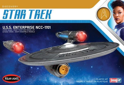 Polar Lights Sci-Fi 1/2500 Star Trek Discovery Series USS Enterprise NCC1701 Kit