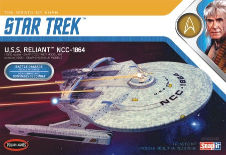 Polar Lights Sci-Fi 1/1000 Star Trek Wrath of Khan USS Reliant NCC1864 Kit