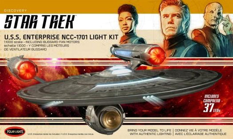 Polar Lights Sci-Fi 1/1000 Star Trek Discovery Series USS Enterprise NCC1701 Lighting Kit