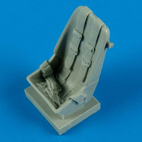 Quickboost Details 1/32 Bf109F Early Seat w/Safety Belts