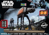Revell-Monogram Sci-Fi Star Wars Rogue One: Imperial AT-ACT Cargo Walker w/Sound Build & Play Snap Kit