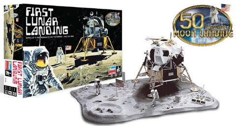 Revell-Monogram Sci-Fi 1/48 First Lunar Landing 50th Anniversary Kit