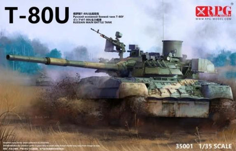 RPG Models 1/35 T80U Russian Main Battle Tank (New Tool) Kit