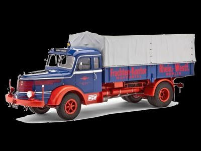 Revell Germany Model Cars 1/24 Krupp Titan SWL80 Long Haul Truck Kit