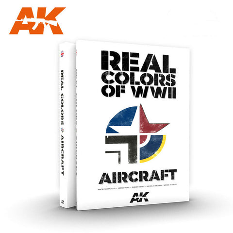 AK Interactive Books - Real Colors of WWII Aircraft Book